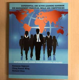 Experiential and active learning handbook for management principles, skills and competencies