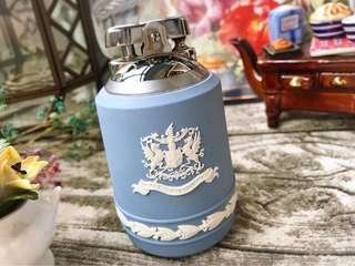英國製Wedgwood Jasper 水藍碧玉浮雕罕見打火機