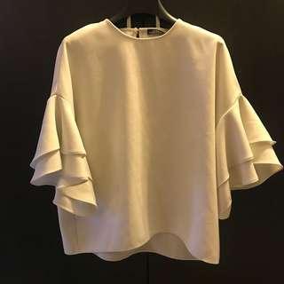Zara Top white size S - M
