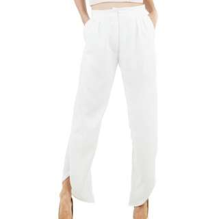 Poise24 pants white