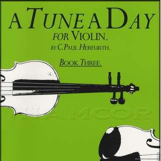 A TUNE A DAY VIOLIN BK3