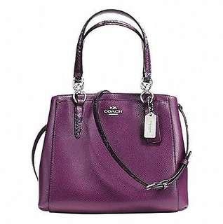 Coach 手袋 Minetta purple