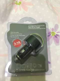 Car Charger Dual USB 3.1A