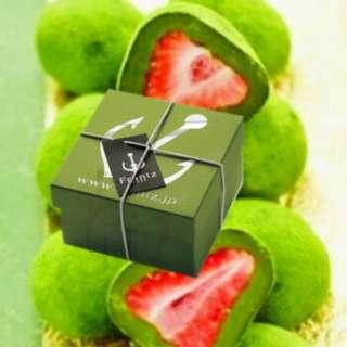 日本原裝進口 Frantz神戶莓 抹茶草莓松露巧克力禮盒