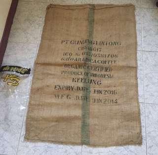 🚚 二手 麻布袋 (長109公分、寬78公分)