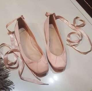 stadivarius ballerina shoes
