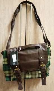 Sling bag / back pack mini green colour