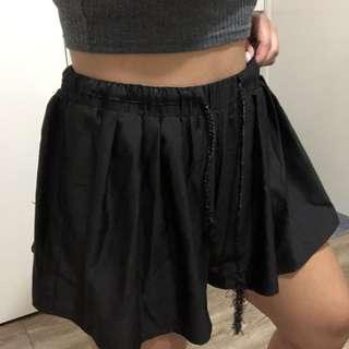 Silky High waisted flowy shorts