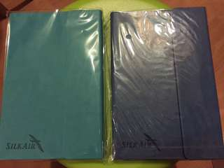 Silkair - Notebook (2 sets)