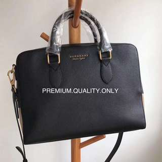 Burberry office folder bag