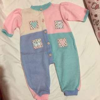 Baby girls bodysuit sleepsuit