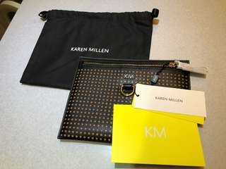 Karen Millen small clutch bag