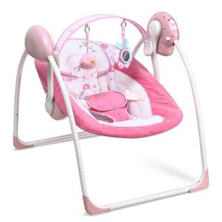 Shears Baby Portable Swing in Pink