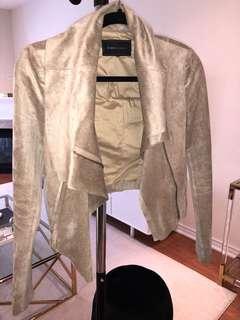 BCBG tan jacket