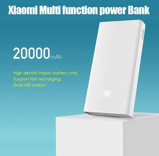 Xiaomi / Mi Power Bank 20000 mAh with LG cells (price fixed)