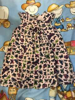 12-18個月 蝴蝶花裙