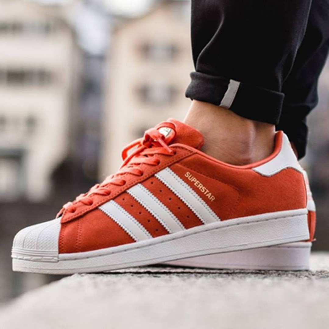 Adidas SUPERSTAR SUEDE FOR MEN / S75140, Men's Fashion, Footwear on Carousell