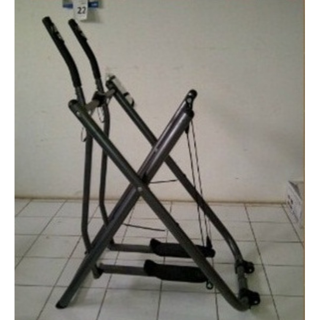 Air walker crosstrainer home gym alat fitnes paling bagus sports