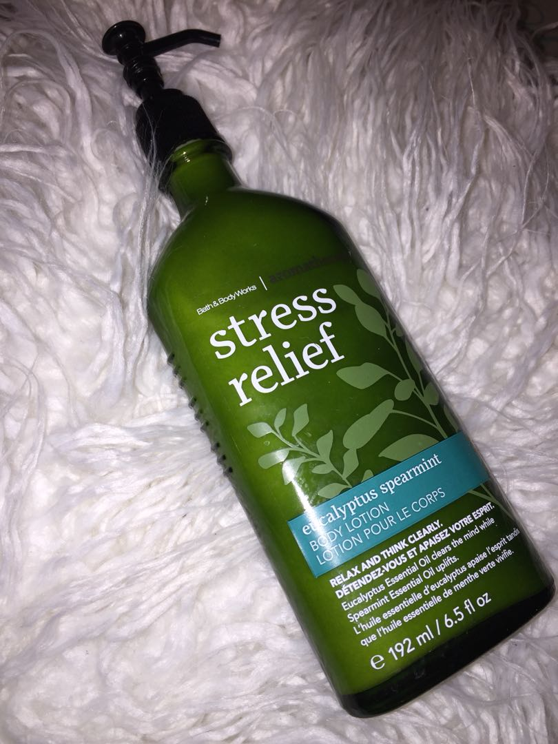 Bath And Body Works Stress Relief Lotion Health Beauty Skin Care