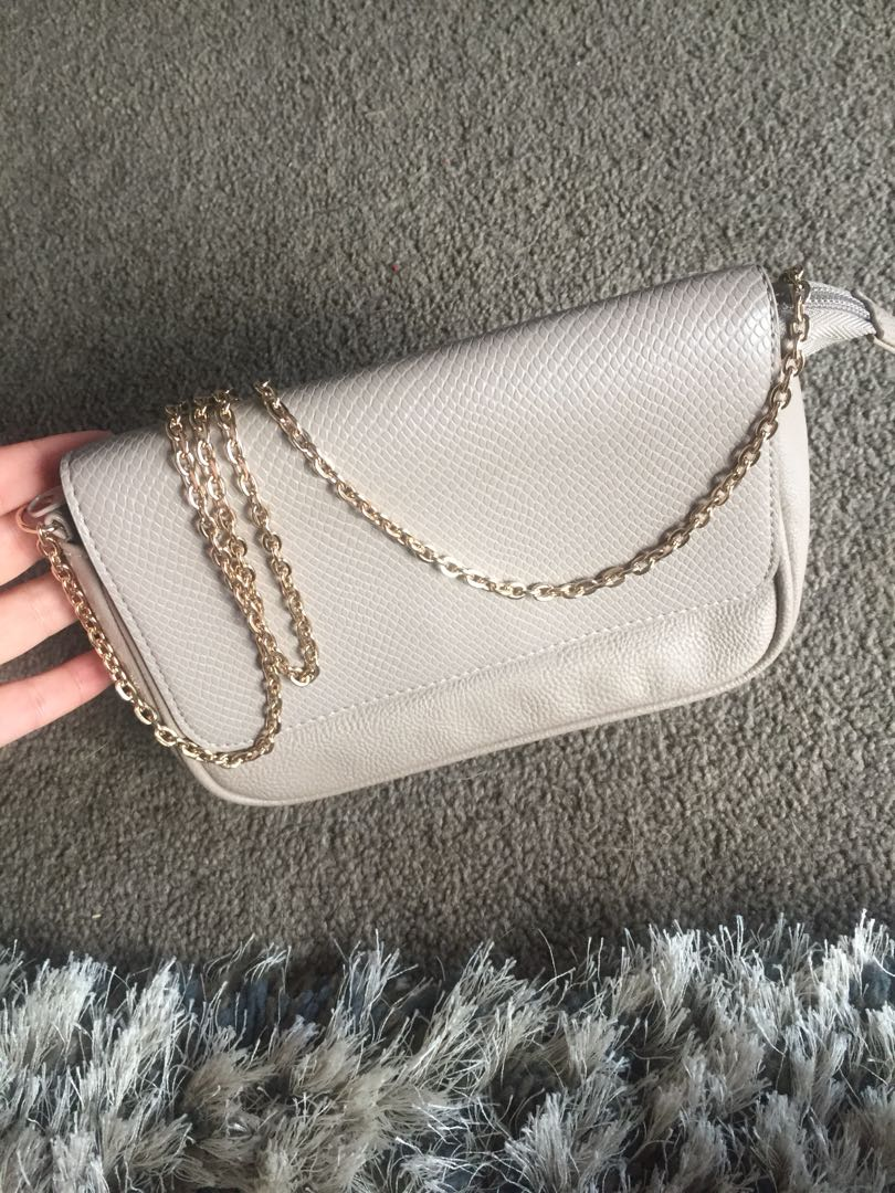 Beige clutch/bag