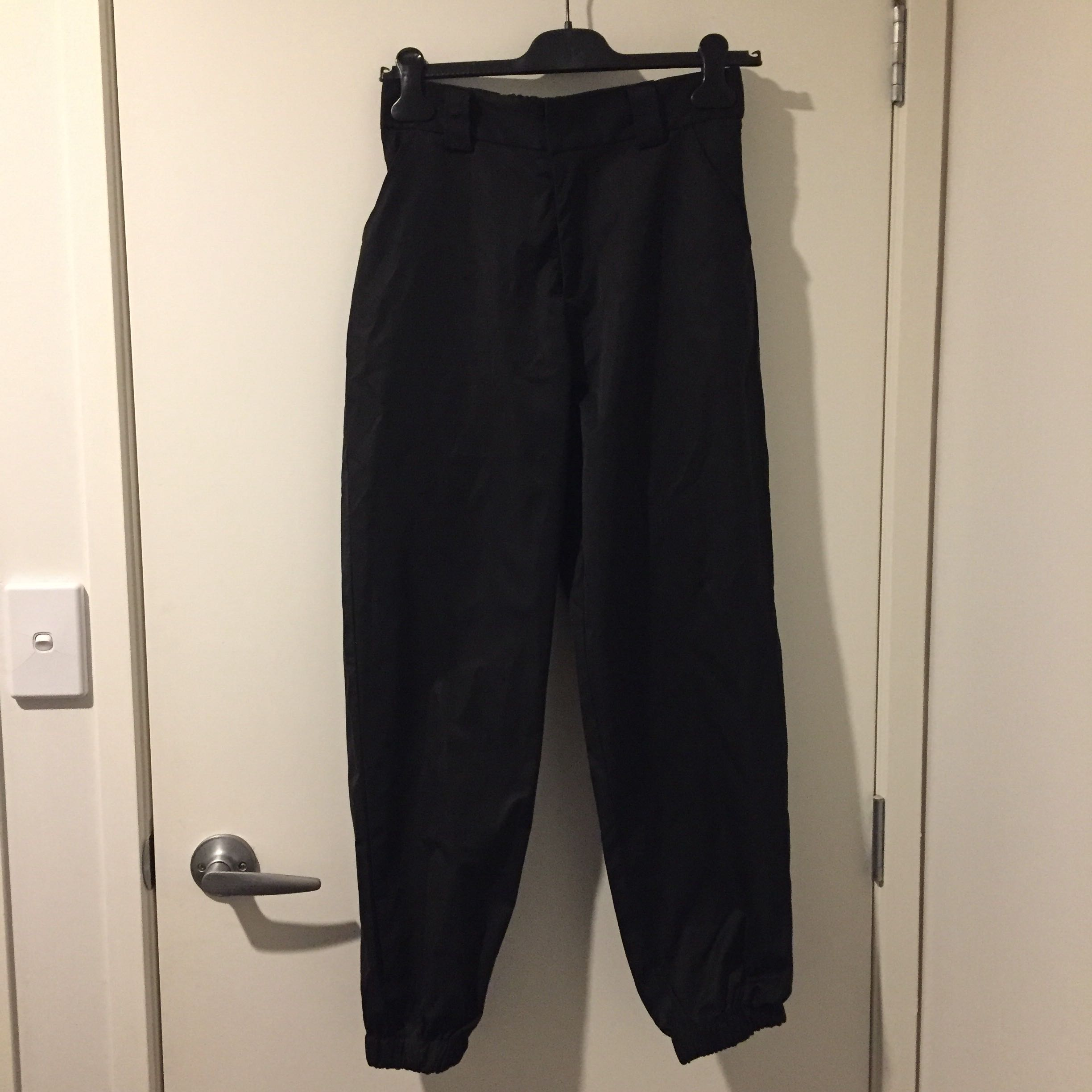 BLACK IAMGIA DUPE PANTS