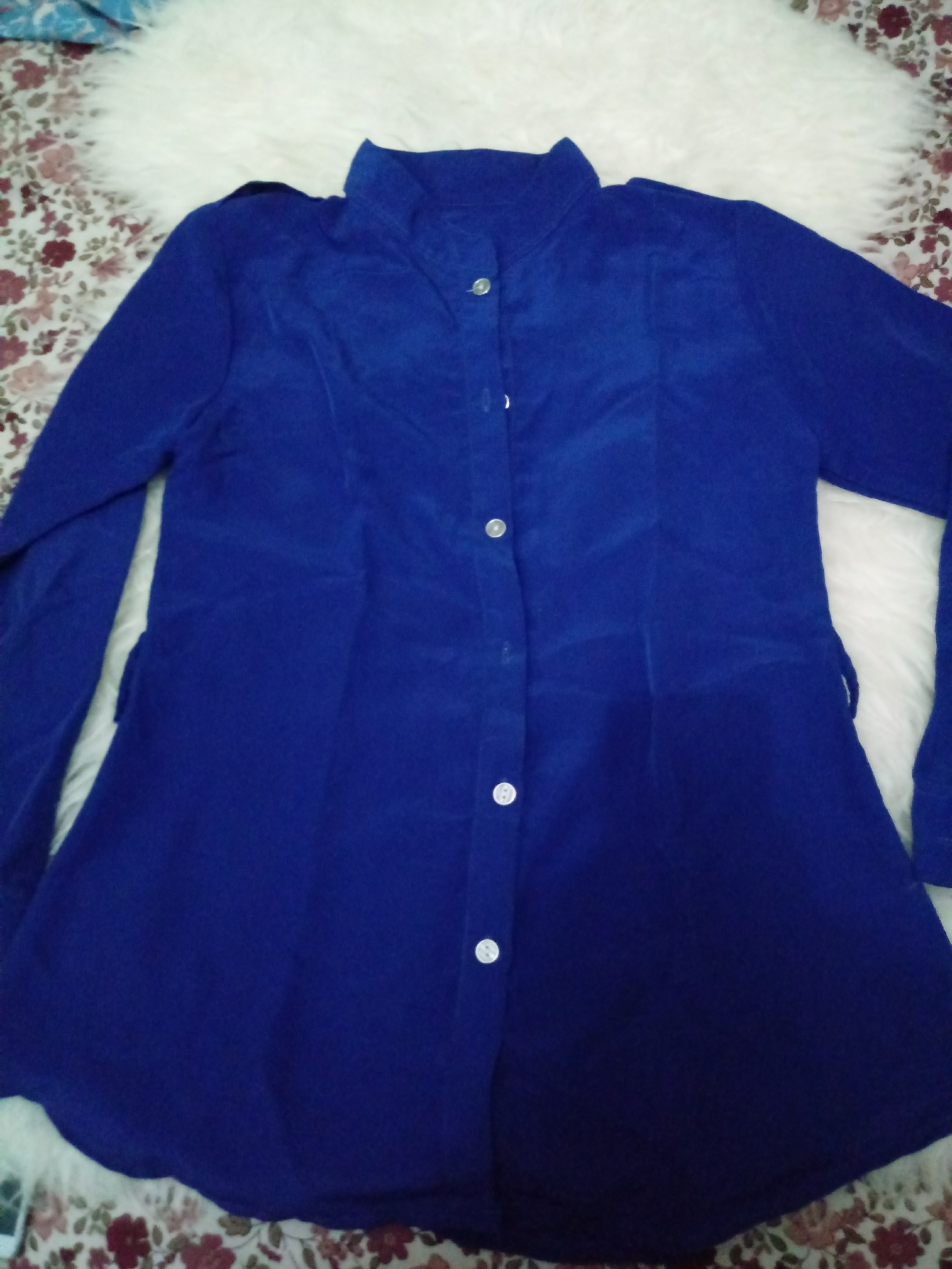 Blouse blue