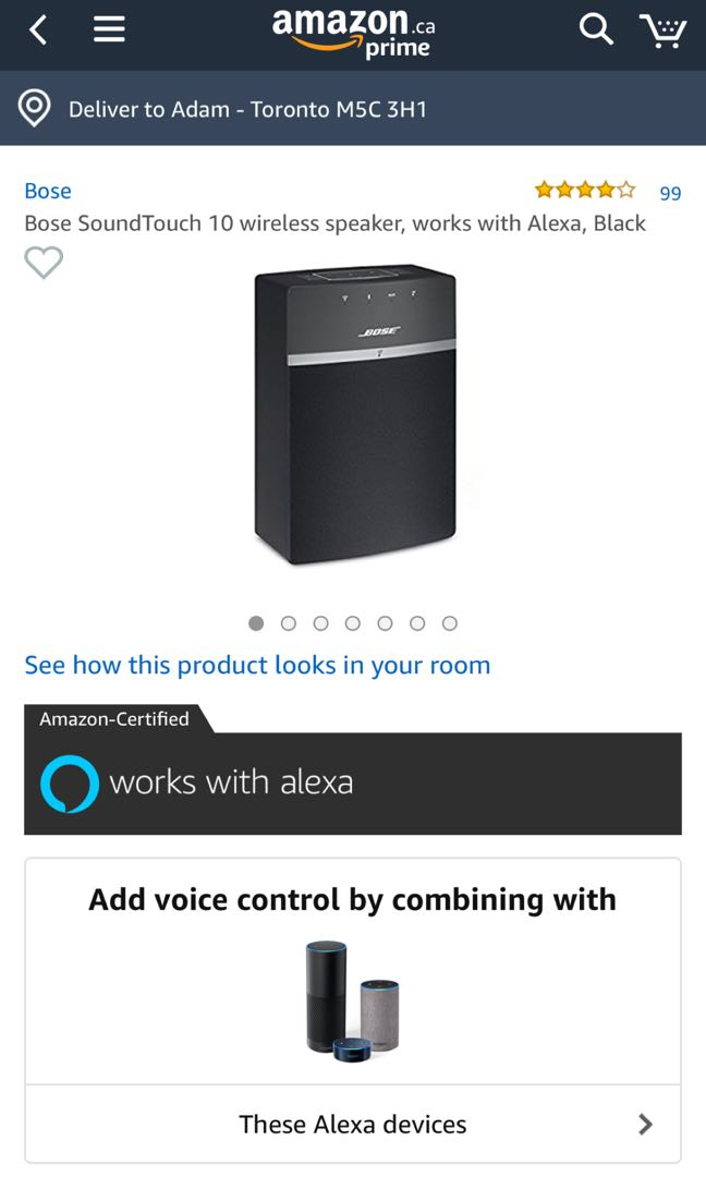 Bose Soundtouch 10 Speakers Pair