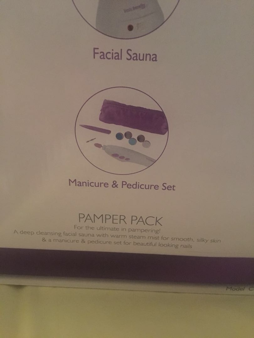 Brand new body benefits pamper pack