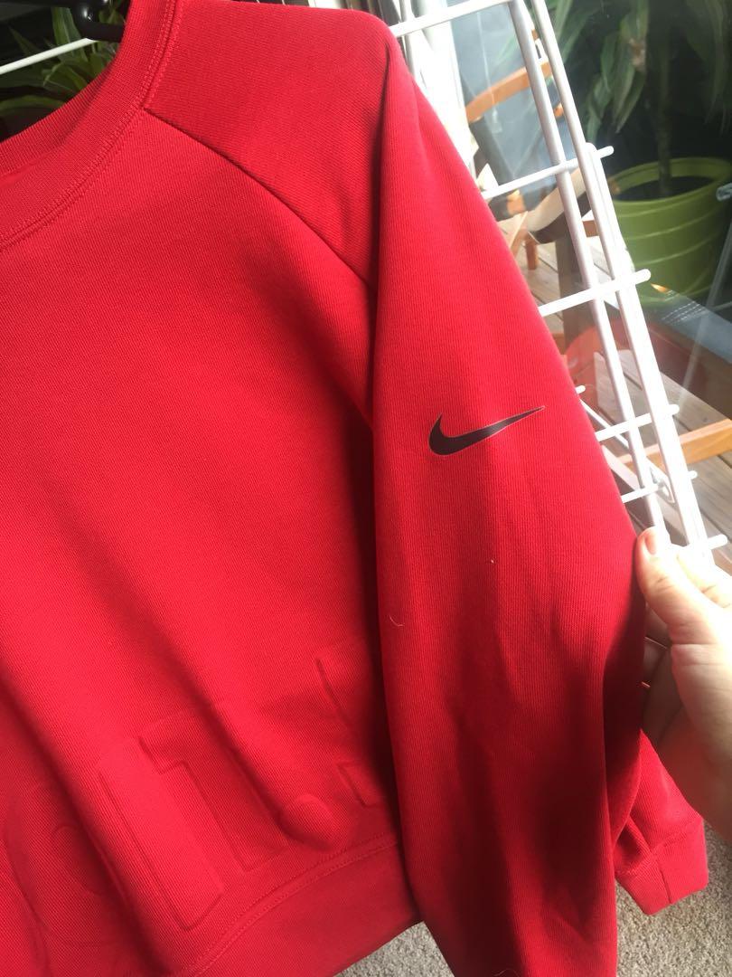 Brand new Nike crop jumper size M
