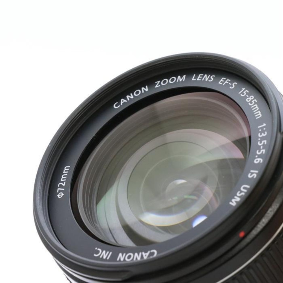 Canon EF-S15-85mm F3.5-5.6 IS USM  CAMERA LENSE (SHIP FROM JAPAN)