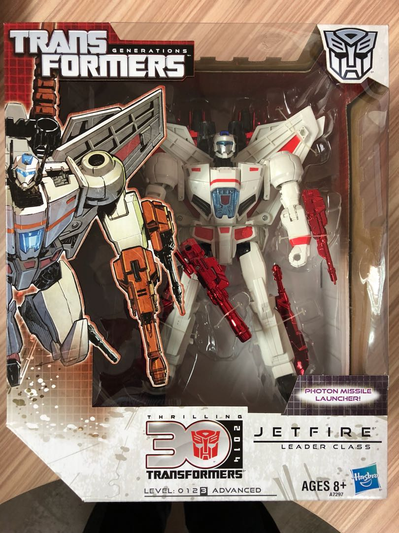 Discontinued Transformers Leader Class Jetfire Toys Games