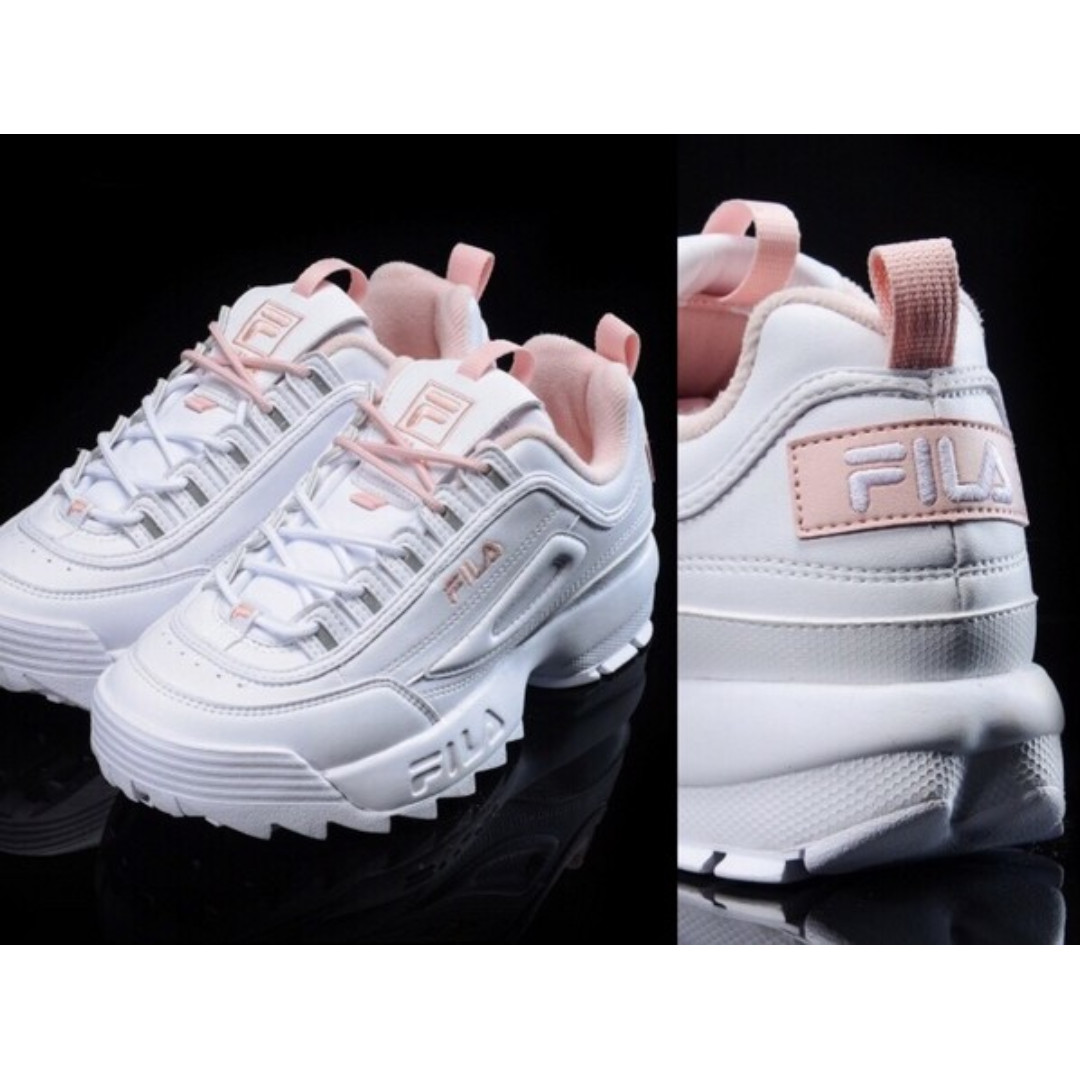 Fila Disruptor 2 Women Sneakers White Pink EU37/235mm