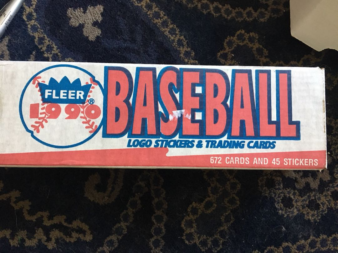 Fleer 1990-1991 baseball cards