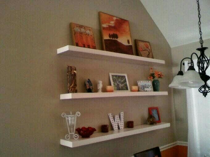 Floating Shelf 50 X 10 Rak Dinding Minimalis Home