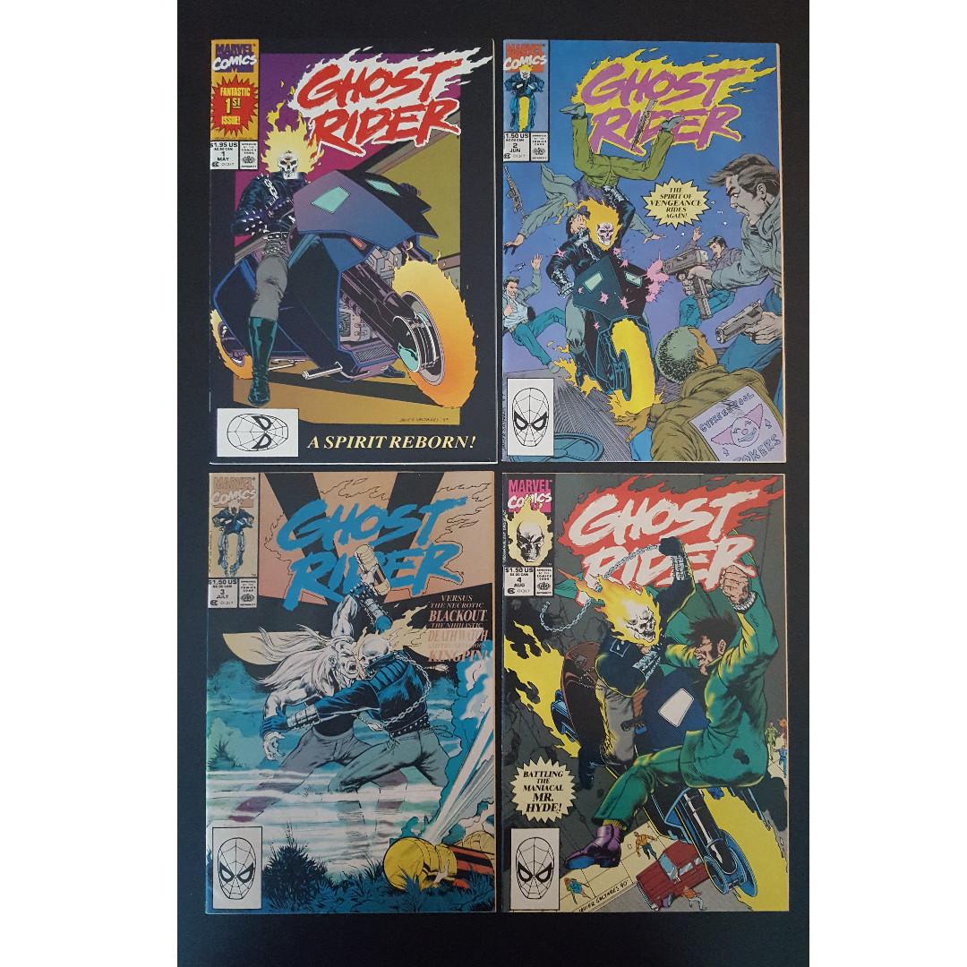 Ghost Rider 1990 series # 13 near mint comic book