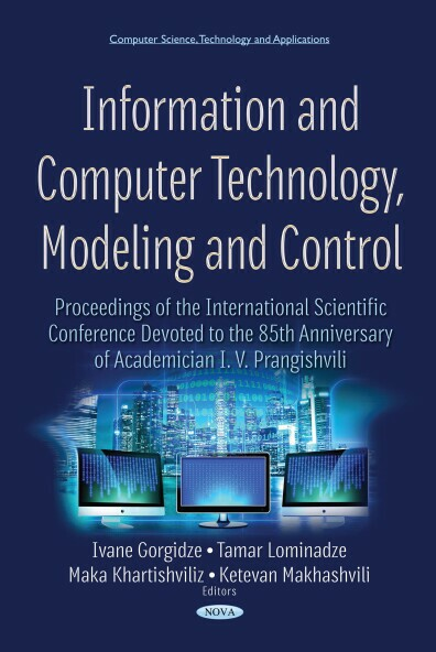 Information and Computer Technology, Modeling and Control Ebook
