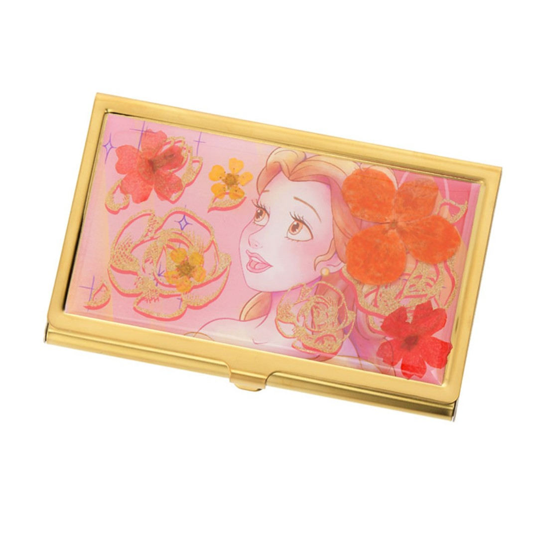 Japan Disneystore Disney Store Belle Water Color Business Card ...