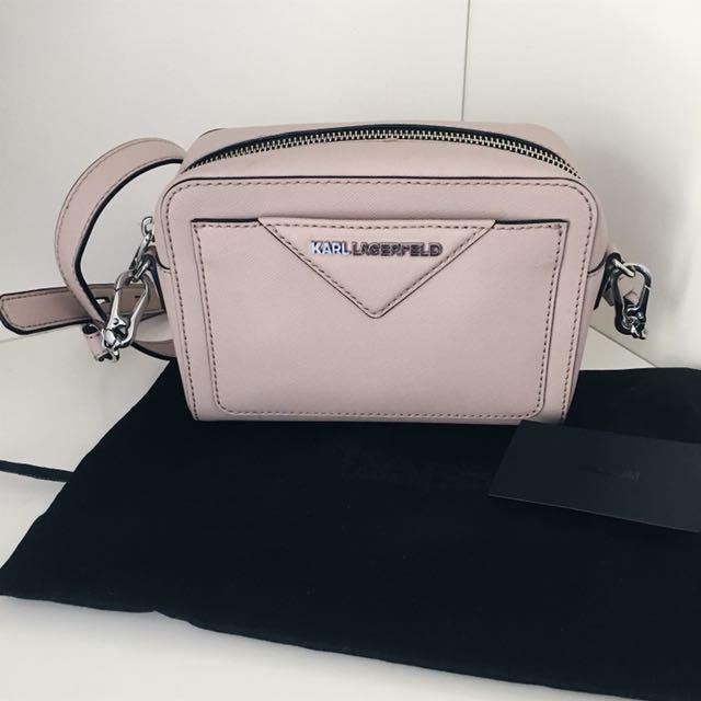 Karl Lagerfeld Pink cross body bag