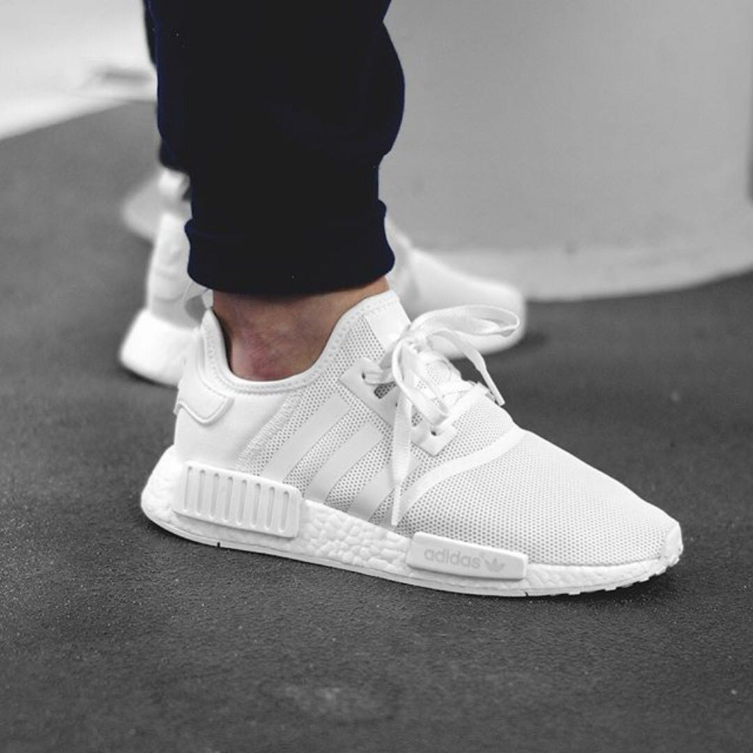 new products 51dd1 19c81 NMD R1 Triple White BA7245