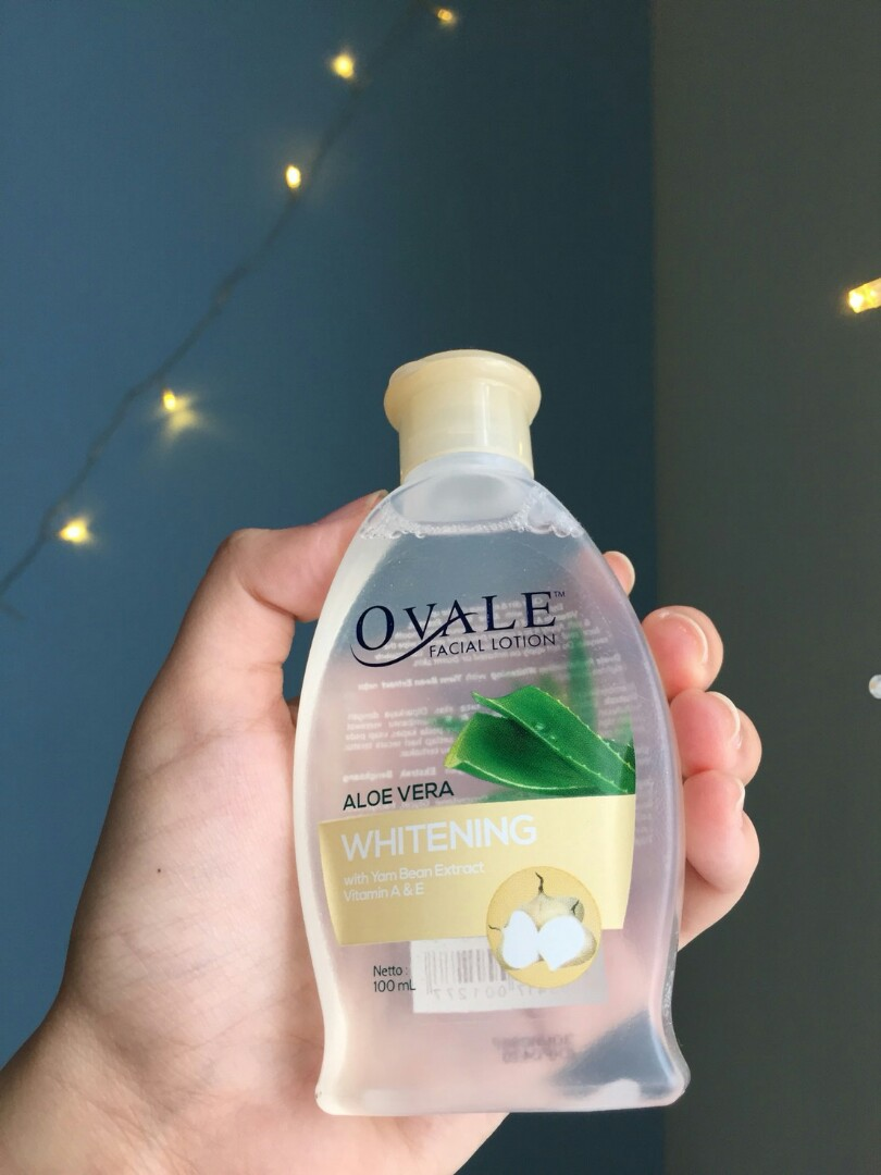 Ovale Facial lotion Aloe vera (whitening), Health & Beauty, Makeup on Carousell