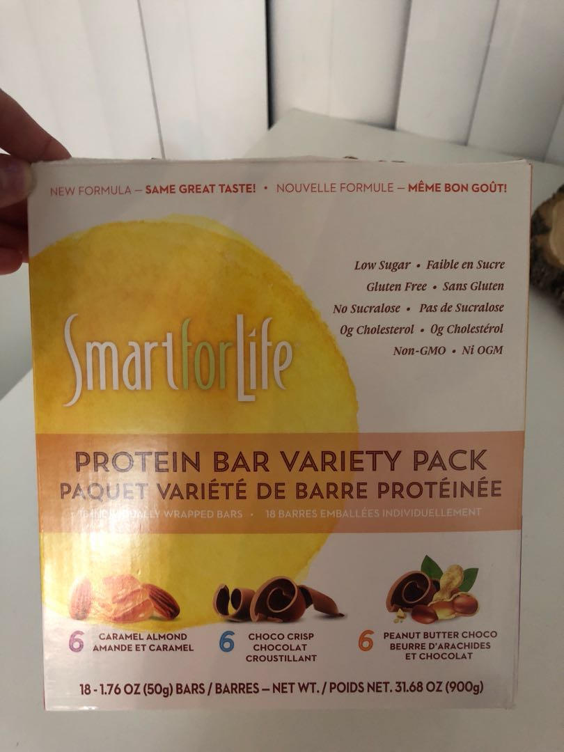 Pack of protein bars