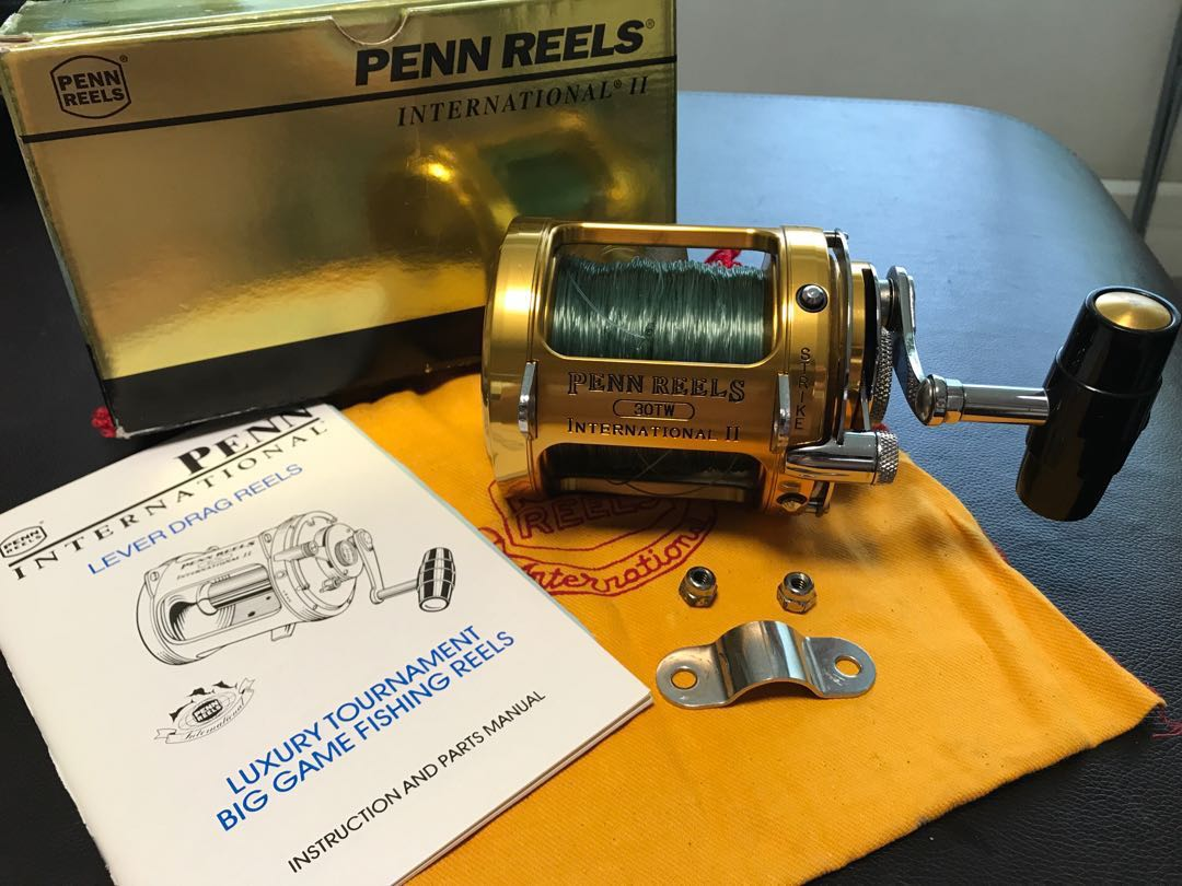 Penn International 2 fishing Reels 30Tw
