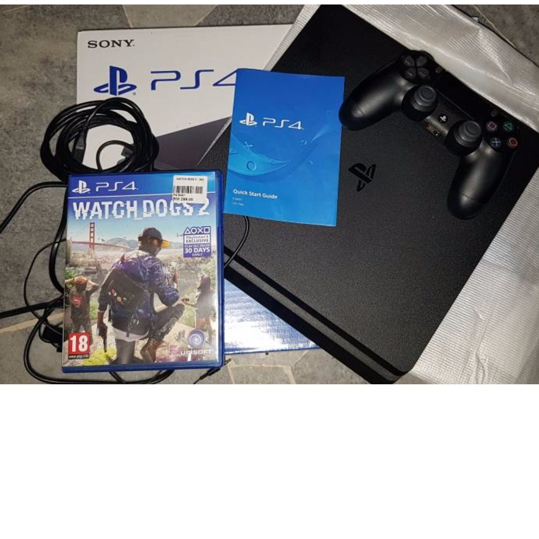 Ps4 Slim 500gb Video Gaming Game Consoles On Carousell Konsol Sony Playstation 500 Gb Hitam Putih