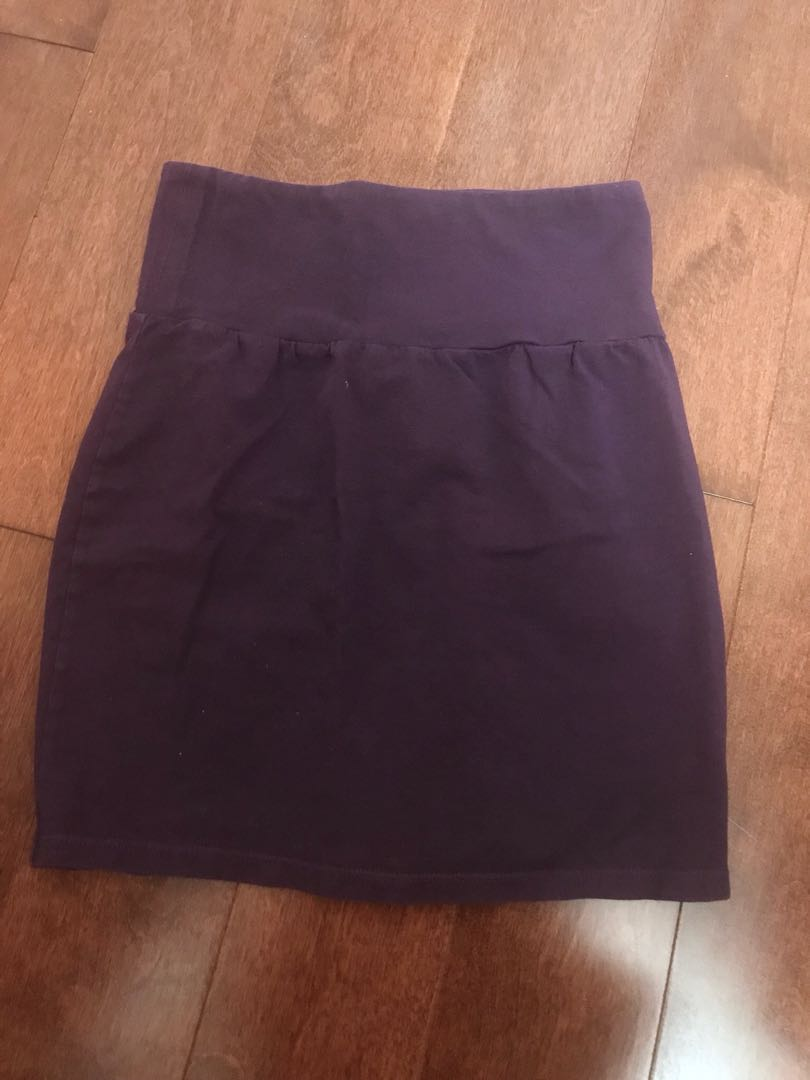 Purple talula pencil skirt