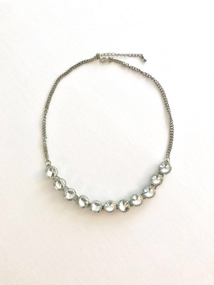 Silver Bling Necklace