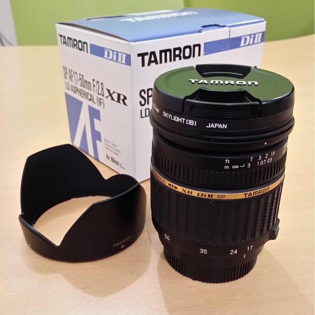 Tamron Sp Af 17 50mm F 28 Xr Ld Aspherical If Lens Photography Di Ii Canon Eos Photo