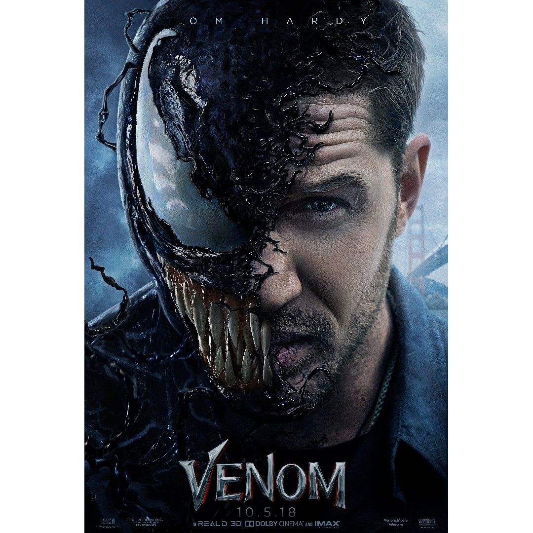 Venom Teaser Poster, Design & Craft, Art & Prints On Carousell