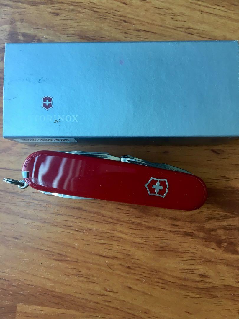 Victorinox swiss knife 1.6795 Swiss Champ, Home & Furniture on Carousell
