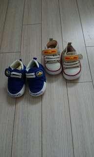 黃色小鴨 學步鞋2雙(含運)