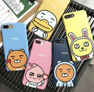 [PO] Kakao Friends Characters Portrait Iphone Casing